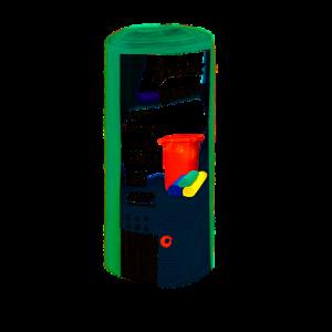 Saci menajeri Zorex Pro, 30L, verde, 20 buc/rola