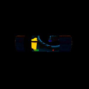 Saci menajeri Zorex Pro, 240L, negru, 10 buc/rola