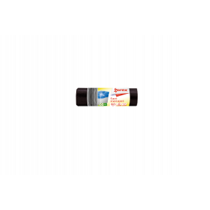Saci menajeri Zorex Basic, 60L, negru, 20 buc/rola