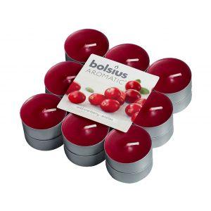 Lumanari pastile fructe de padure 18/set