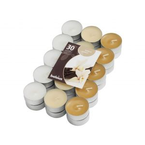 Lumanari pastile vanilie 30/set