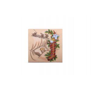 Servetele de masa Craciun decorative Papelino Finesse  3 straturi  33x33 cm 20 bucati