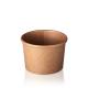 Bol pentru supa din carton 335ml, 50/set