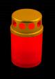 Candela TIP50  recipient plastic  timp de ardere ≃ 12 ore/bucata